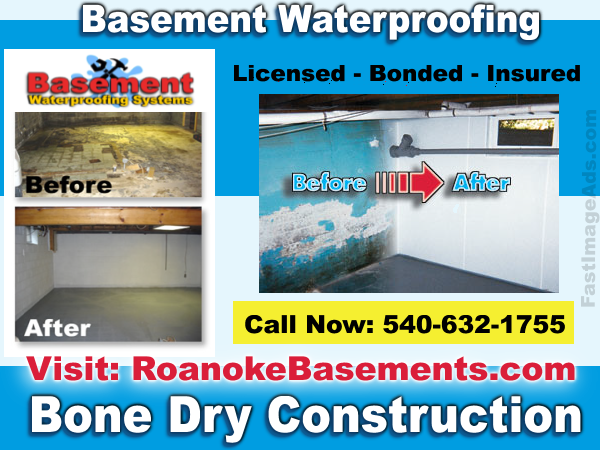 roanoke-va-basement-waterproofing